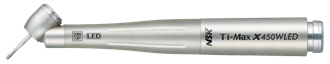 NSK Ti-Max X450WLED Titanium high speed HP, LED, 45Deg Angled, Std Head For W&H coupling