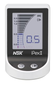 NSK iPexII Apex Locator Complete Set with Control unit, Probe, File Clip, Lip Hook & Tester